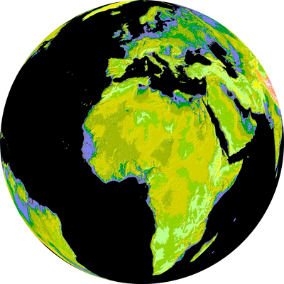 ASTER Global Digital Elevation Map