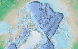 Thumbnail for graphic: Arctic ocean basemap