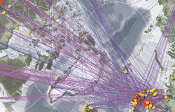 Thumbnail for graphic: University of the Arctic Thematic Networks map