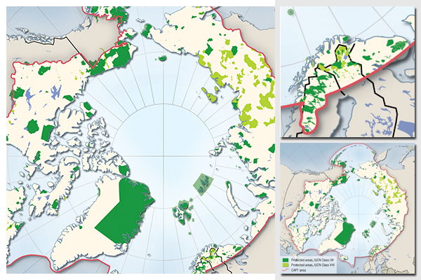 Protected areas of the Arctic
