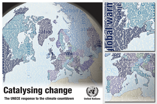 UNECE and climate change, report cover