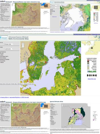 UNEP/GRID-Arendal interactive maps