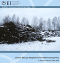 Climate change adaptation in Swedish forestry: a historical overview, 1990-2012